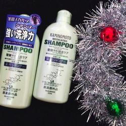 Dầu gội kích thích mọc tóc ngăn rụng tóc Kaminomoto Medicated Shampoo.