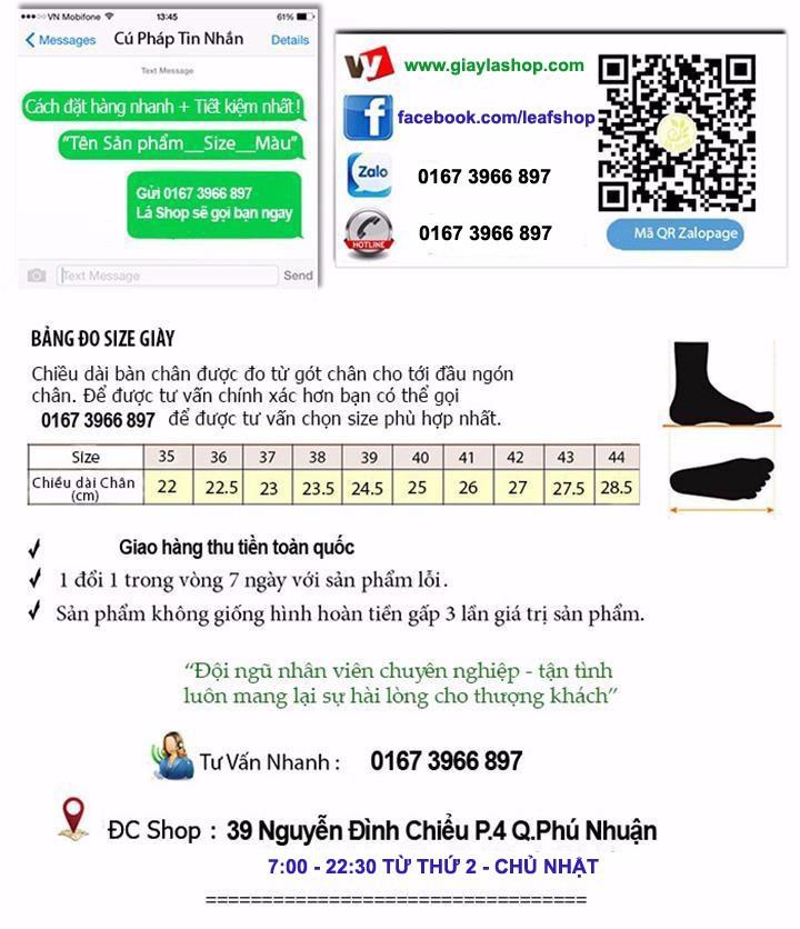 Giày Thể Thao Thời Trang - 1411 1