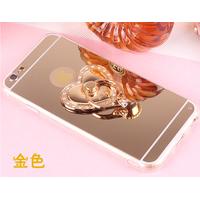 Ốp SILICONE tráng gương iPhone 6S-6