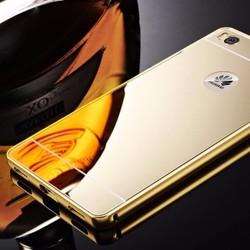 Huawei Honor 4C - Ốp lưng điện thoại viền kim loại, nắp lưng gương
