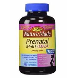 Vitamin tổng hợp cho bà bầu Prenatal + DHA Nature Made 150 viên