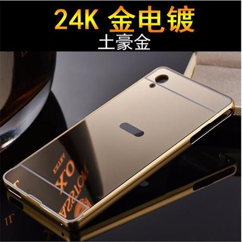 Sony Xperia Z4 - Ốp lưng điện thoại viền kim loại, nắp lưng gương - 3885276 , 2672862 , 15_2672862 , 98000 , Sony-Xperia-Z4-Op-lung-dien-thoai-vien-kim-loai-nap-lung-guong-15_2672862 , sendo.vn , Sony Xperia Z4 - Ốp lưng điện thoại viền kim loại, nắp lưng gương