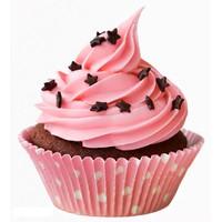 12 Chiếc khuôn làm bánh cupcake ,rau câu silicon