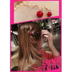 Ms563 Cài tóc cherry siêu xinh