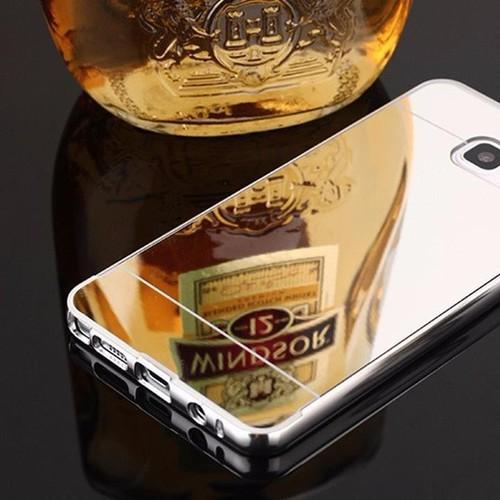 Samsung-Galaxy-Note 3 - Ốp điện thoại viền kim loại, nắp lưng gương