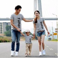 Combo 3 áo gia đình CAO CẤP 689