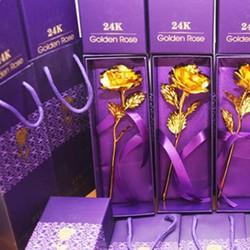 Hình thật - Hoa hồng vàng-quà tặng tình nhân độc đáo và ý nghĩa