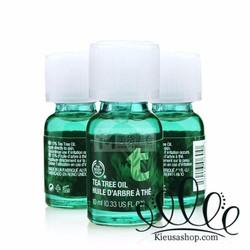 Tinh dầu tràm trà trị mụn Tea Tree Oil The Body Shop