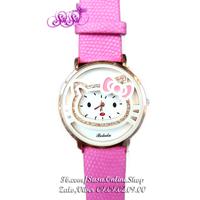 Đồng hồ Kitty đính hột - 2016