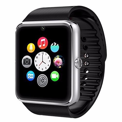 Đồng hồ thông minh Smartwatch GT08 - Đen phối bạc