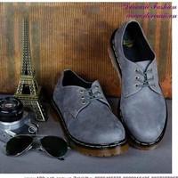 Giày Doctor nam cổ thấp phong cách lịch lãm nam tính GDOC30