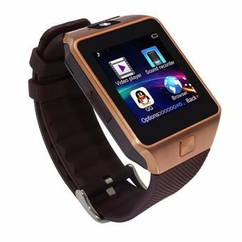 Đồng hồ thông minh Smart Watch Uwatch DZ09 - Vàng đồng