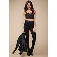 Quần Jeans Forever21 High-Waisted Super Skinny Jeans