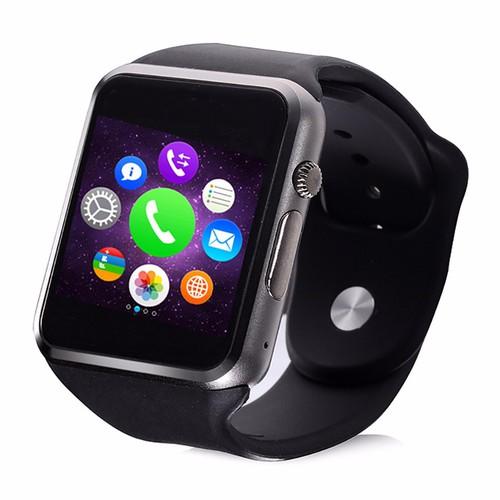 Đồng hồ thông minh smartwatch Hongkong electronics AW08 Q8 - Đen