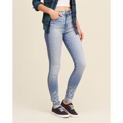 Quần Jeans Hollister High Rise Super Skinny Jeans