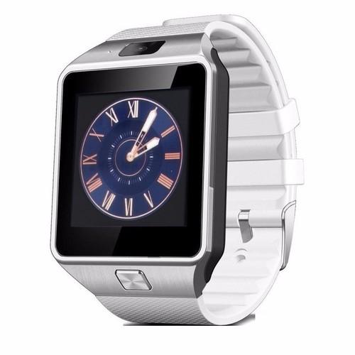 Đồng hồ thông minh Smart Watch Uwatch DZ09 - Trắng phối bạc