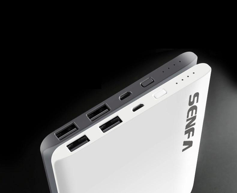 Pin sạc dự phòng SENFA S58 10000mAh - Trắng 2