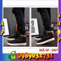 Giày nam cổ cao phong cách Hàn Quốc - GN7