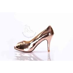 Giày cao gót ánh kim cực hot