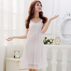 Váy ngủ gợi cảm màu trắng TK274
