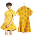 Đầm hoạ tiết