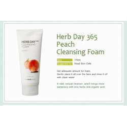 Sửa rửa mặt herb 365 day cleansing foam The face shop