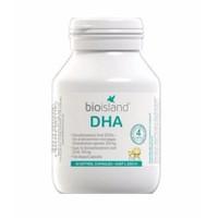 Bio Island DHA, bổ sung DHA cho trẻ từ 1 tháng tuổi - Chai 60 viên Úc