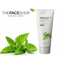 THEFACESHOP - SỮA RỬA MẶT HERB DAY 365 SPEARMINT For Man