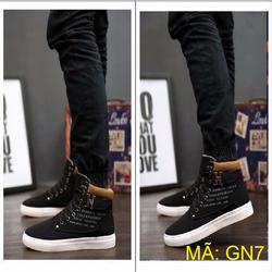 Giày nam cổ cao phong cách Hàn Quốc -- GN7