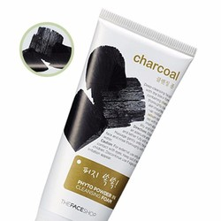 THEFACESHOP - SỮA RỬA MẶT PHYTO POWDER IN CLEANSING FOAM_CHARCOAL