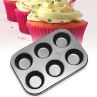 Khuôn Nướng Bánh Cupcake Muffin Chống Dính 6 Lỗ  68