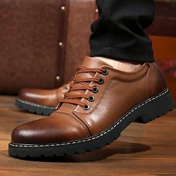 Giày da nam cao cấp, da thật, mẫu mới 2017 ZS036