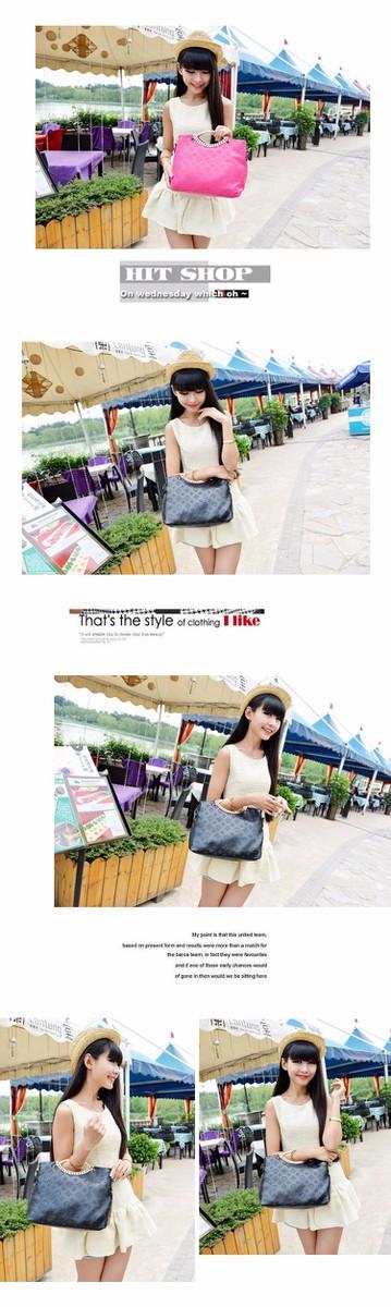 Túi xách Hàn Quốc họa tiết LV dập nổi MSP:TX096 3