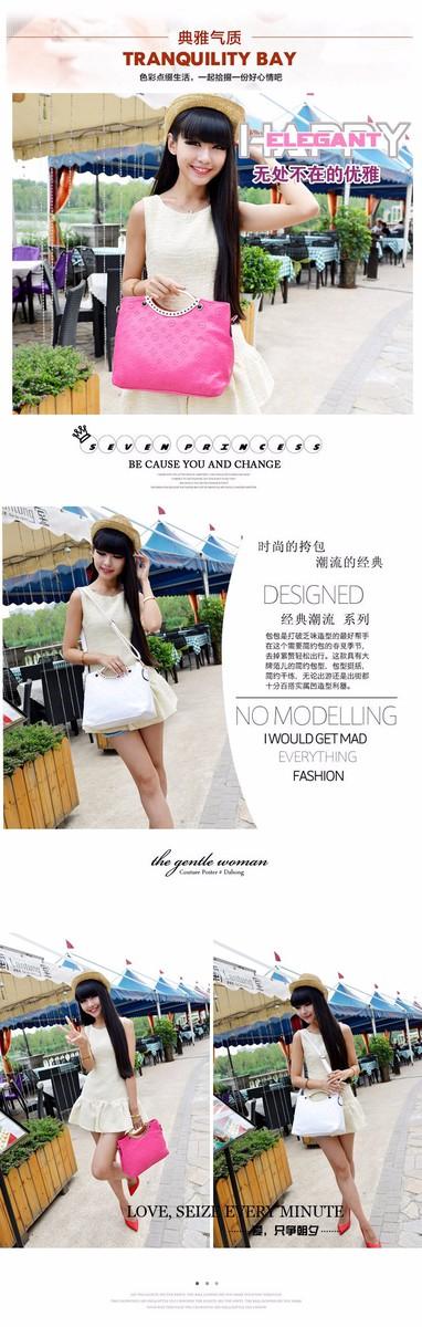 Túi xách Hàn Quốc họa tiết LV dập nổi MSP:TX096 2