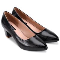 Giày cao gót bít mũi hoàng gia - S5H011DM