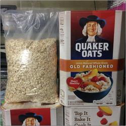 Yến mạch nguyên hạt Quaker Oats Old Fashioned 1000gr