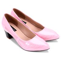 Giày cao gót bít mũi hoàng gia - S5H011H