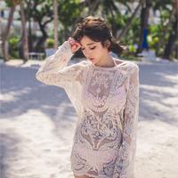 BikiniStoreVN:: Áo ren lưới tay dài AL14