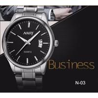 Đồng hồ dây thép chống thấm nước Nary N-03