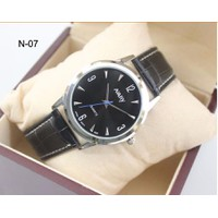 Đồng hồ dây da Nary N-07