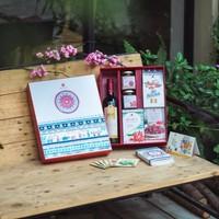 Hộp quà tết Roselle - Bình An 2 - hoa Bụp Giấm