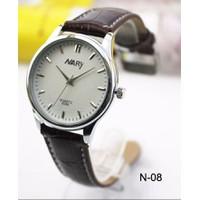 Đồng hồ dây da Nary N-08