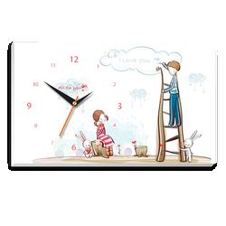 Tranh đồng hồ để bàn Tictac - Gửi lời yêu