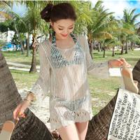 BikiniStoreVN:: Áo ren lưới tay dài AL2