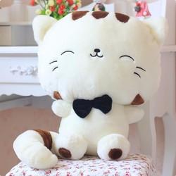 Gấu Bông Mèo Trắng Đầu To 35cm