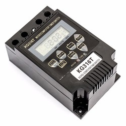 Bộ công tắc hẹn giờ tắt mở thiết bị tự động Smart Sensor KG316T Đen