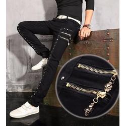 quần jeans nam đính hạt đầu lâu Mã: ND0502