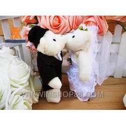 Móc khóa cô dâu và chú rể