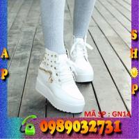 Giày sneaker nữ đính hạt cực đẹp - GN14