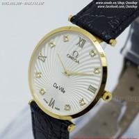 Đồng hồ Omega kính sapphire không thấm nước - Mã số: DH1603